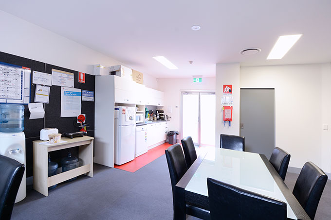 Port Macquarie Eye Centre designed by Robert Snow Architect