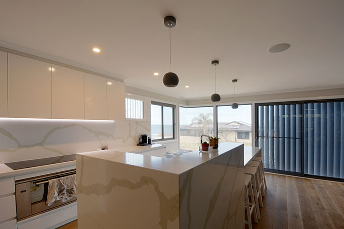 Dent Crescent Alterations and Additions designed by Robert Snow Architect