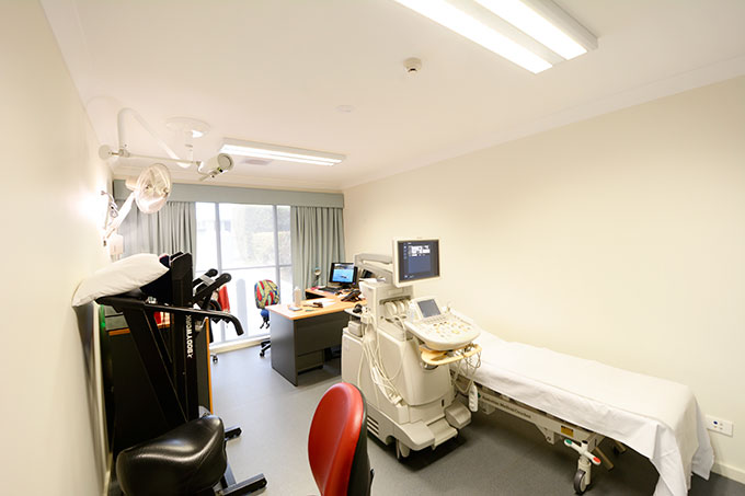 Vascular Laboratory designed by Robert Snow Architect